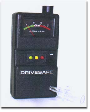 drivesafe breath alcohol tester for personal use